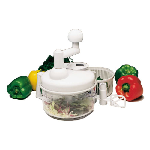 Progressive International Velocity Deluxe Manual Food Processor