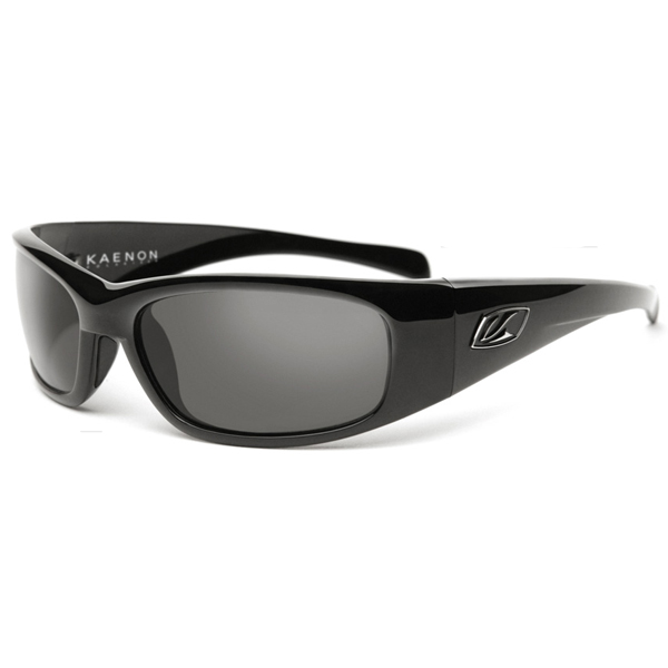 Rhino Sunglasses, Black Frames with Gray G12 Lenses