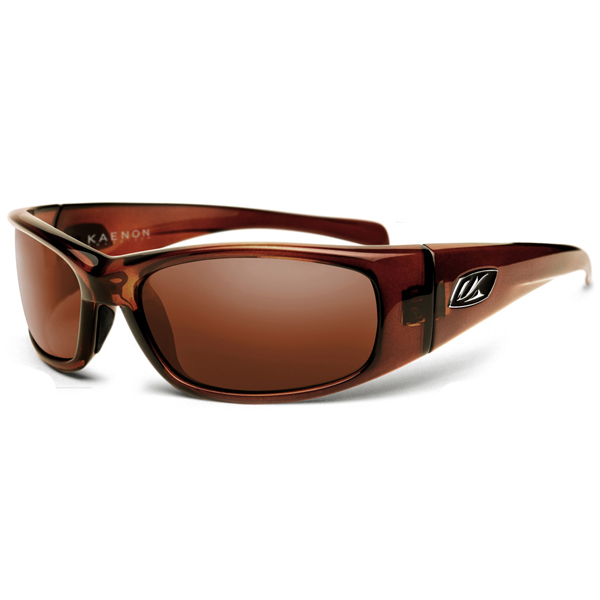 Rhino Sunglasses, Tobacco Frames with Copper C12 Lenses