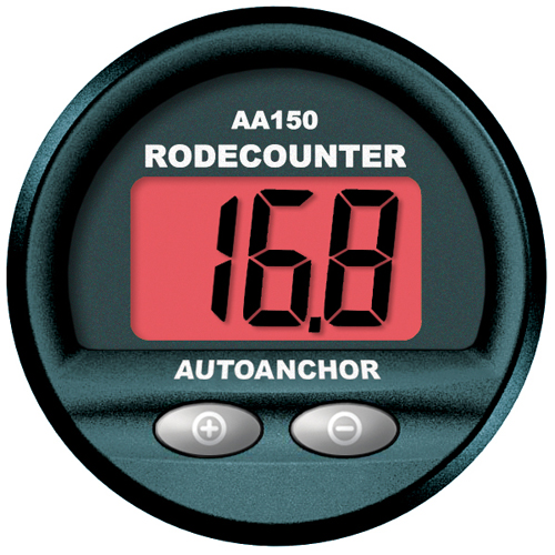 Auto Anchor AutoAnchor 150 Rode Counter