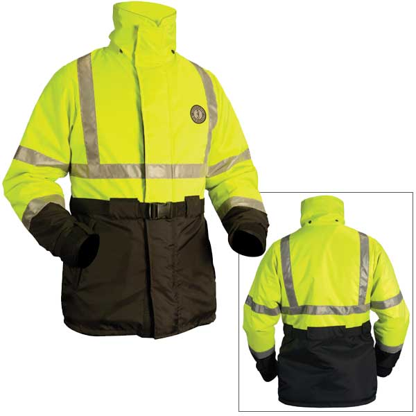 Mustang Survival High Visibility PFD Coat, Small