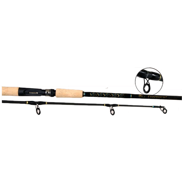 Billfisher contour in shore spinning rod medium heavy for Heavy fishing rod