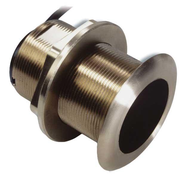 Simrad B60 Bronze Thru-hull 50/200kHz Transducer 20' Tilt, 600W, 45/12, Transducer Option for BSM-1