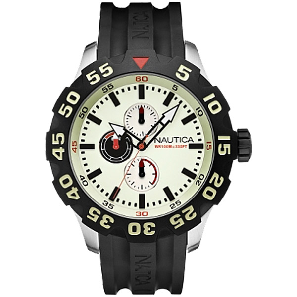 Men's BFD 100 Chronograph Watch, Black