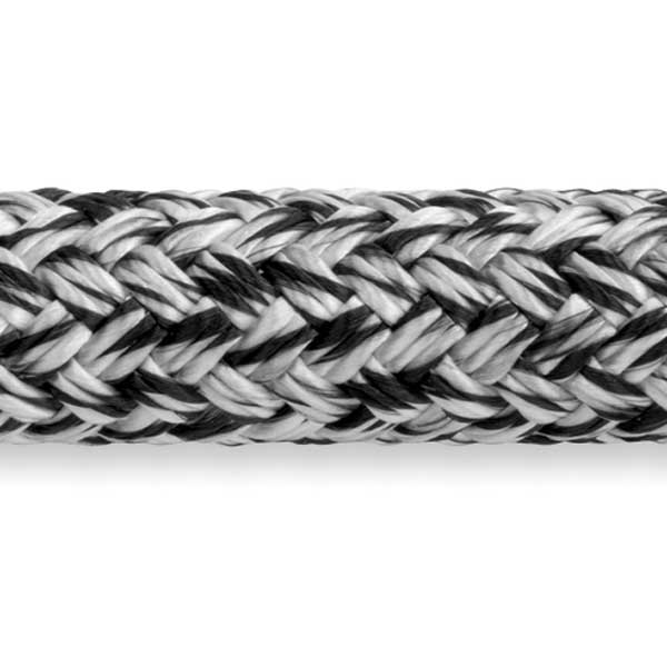 Samson Rope MLX Double Braid, 3/8 Diameter, 7,200 lb. Breaking Strength, Black