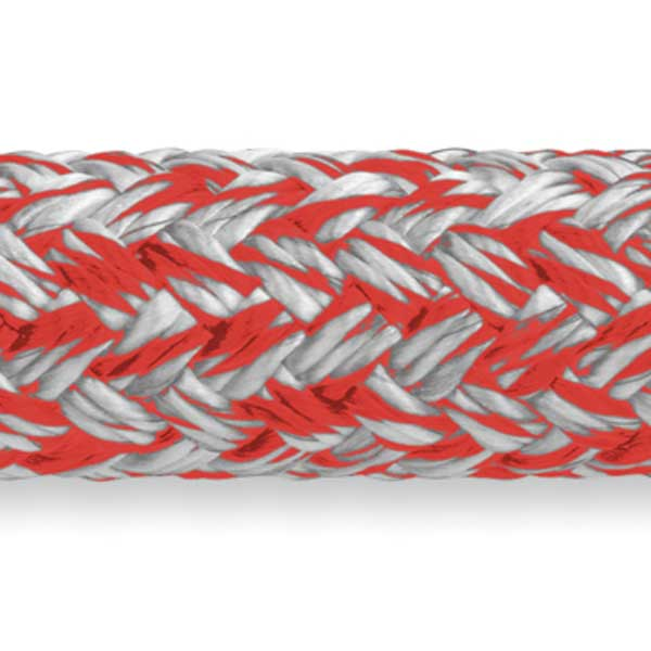 Samson Rope MLX Double Braid, 3/8 Diameter, 7,200 lb. Breaking Strength, Red
