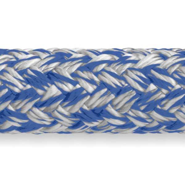 Samson Rope MLX Double Braid, 3/8 Diameter, 7,200 lb. Breaking Strength, Blue