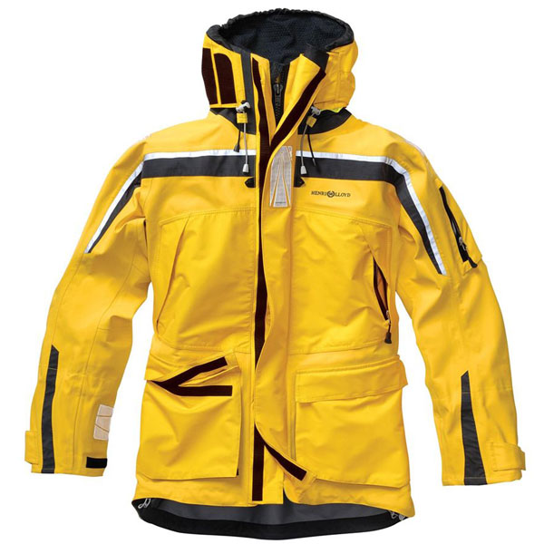 Henri Lloyd Men's Ocean Pro Jacket Yellow