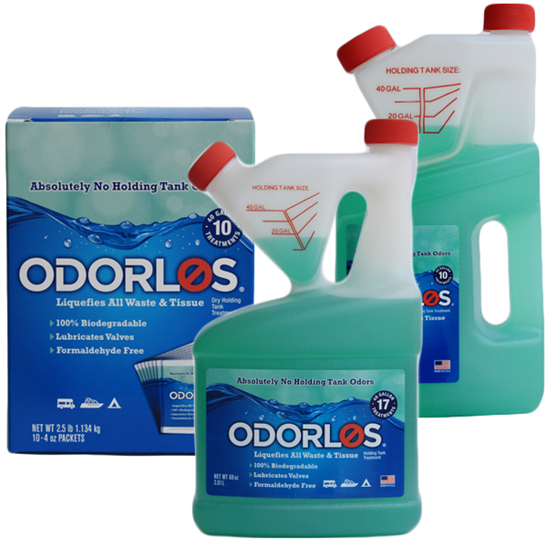 Odorlos Head Chemical, 4oz., 10-Pack