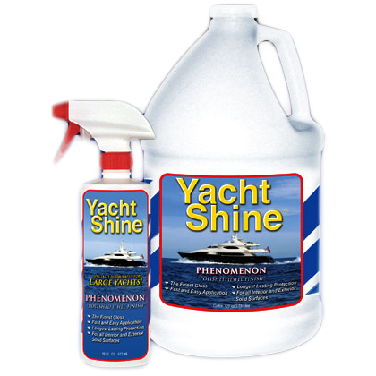 Cap'n John's Boat Brite YachtShine Phenomenon, 16oz.