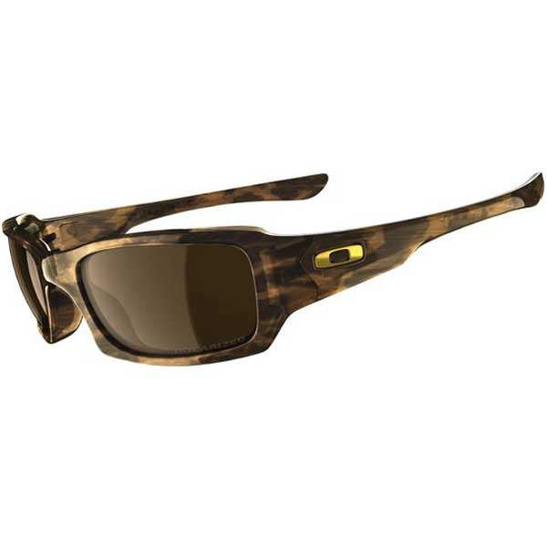 Oakley Fives Squared Polarized Sunglasses, Tortoise Frames with Bronze Lenses Brown Sale $130.00 SKU: 11758992 ID# 12-968 UPC# 700285229782 :