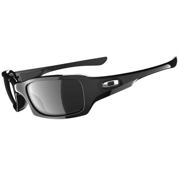 Oakley Fives Squared Polarized Sunglasses, Polished Black Frames with Black Iridium Lenses Sale $150.00 SKU: 15232234 ID# OO9238-06 UPC# 700285787107 :