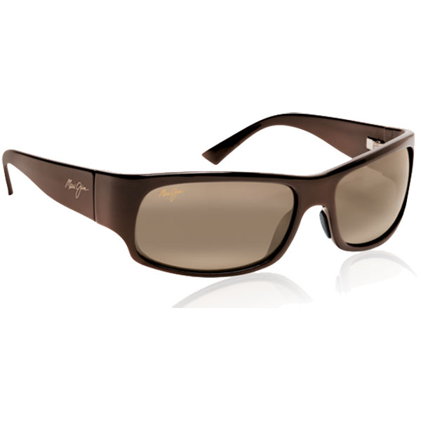 Maui Jim Longboard Sunglasses, Rootbeer Frames with HCL Bronze Lenses Brown
