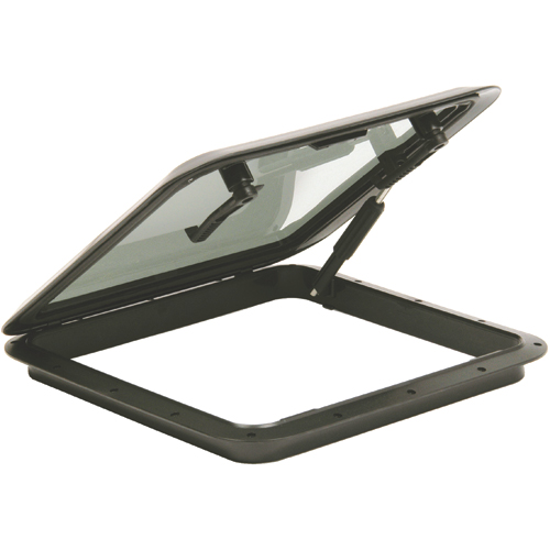Bomar 900 Series Hatch with Screen & Trim Ring, 19-3/4 x 19-3/4 Cutout Size