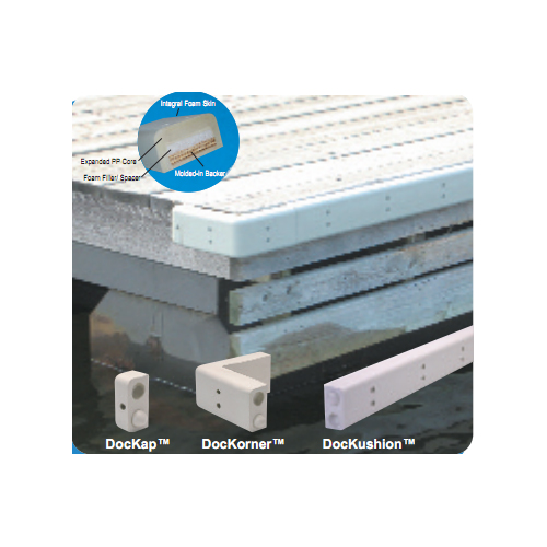 Dock Edge DocKap Large Premium Profile, 2 Sale $29.99 SKU: 11835824 ID# 1152-F UPC# 776113115206 :