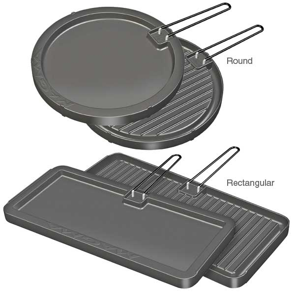 Magma Reversible Non-Stick Griddle, 8 x 17