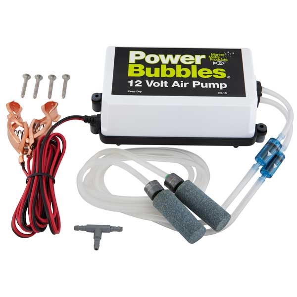 Marine Metals PowerBubbles 12V DC Air Pump