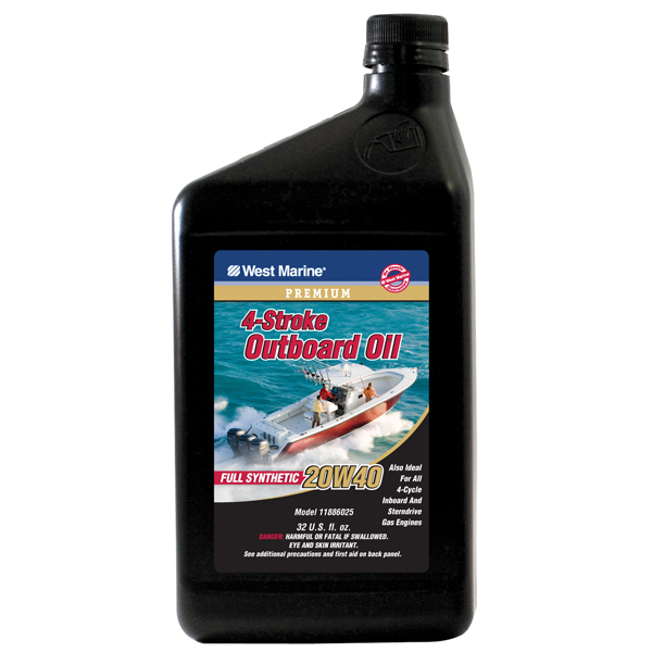 West Marine Premium 4 Stroke Full Synthetic Engine Oil
