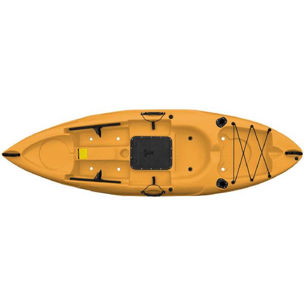 Malibu Kayaks Mini-X Recreational Kayak, Sit-On-Top, Mango
