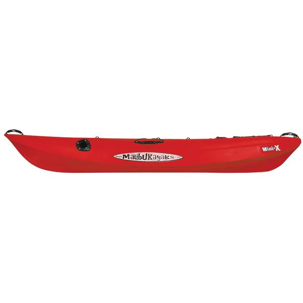 Malibu Kayaks Sit-on-Top Mini-X Kayak, Red Sale $629.99 SKU: 11896818 ID# MK08-05-04 UPC# 856954001804 :