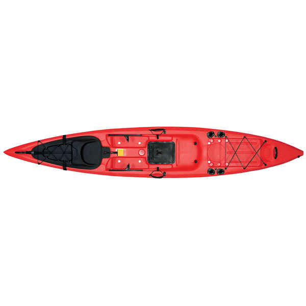 Malibu Kayaks Sit-On-Top Kayak X-13, Red Sale $889.99 SKU: 11897022 ID# MK13-05-04 UPC# 856954001613 :