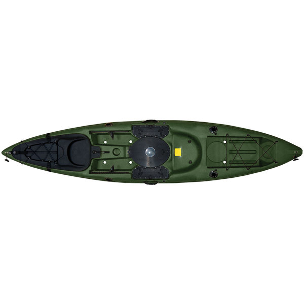 Malibu Kayaks Sit-On-Top Stealth Kayak, Green