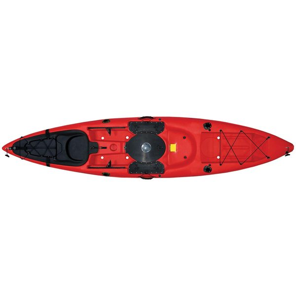 Malibu Kayaks Sit-On-Top Stealth Kayak, Red