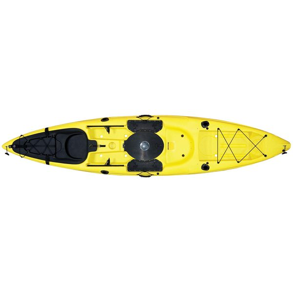 Malibu Kayaks Sit-On-Top Stealth Kayak, Yellow