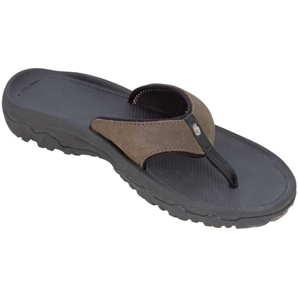 Teva Men's Katavi Thongs, Bungee Cord, 9 Brown/black