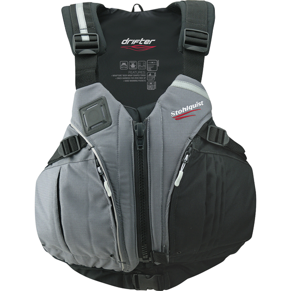 Stohlquist Men's Drifter Life Vest, M/L, 40-48 Chest Size