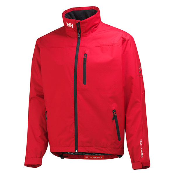 Helly Hansen Men's Crew Mid Layer Jacket Red Sale $160.00 SKU: 15022718 ID# 30253-162-XXL UPC# 7040052823205 :