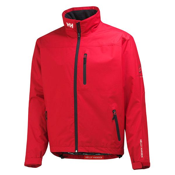 Helly Hansen Men's Crew Mid Layer Jacket Red