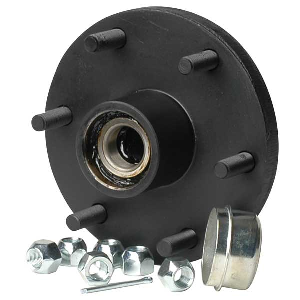 C E Smith High Capacity Hub Kit, 6-Bolt, 5 1/2 Bolt Circle Dia., 1 3/4-1 1/4 Tapered Spindle Dia., 12 Brake size, 15-16 Wheel size., 3,000lb. Capacity Sale $87.99 SKU: 11952033 ID# 13711 UPC# 768296007997 :