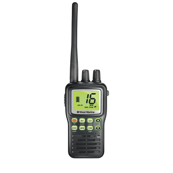 WEST MARINE VHF85 Handheld VHF Radio | West Marine