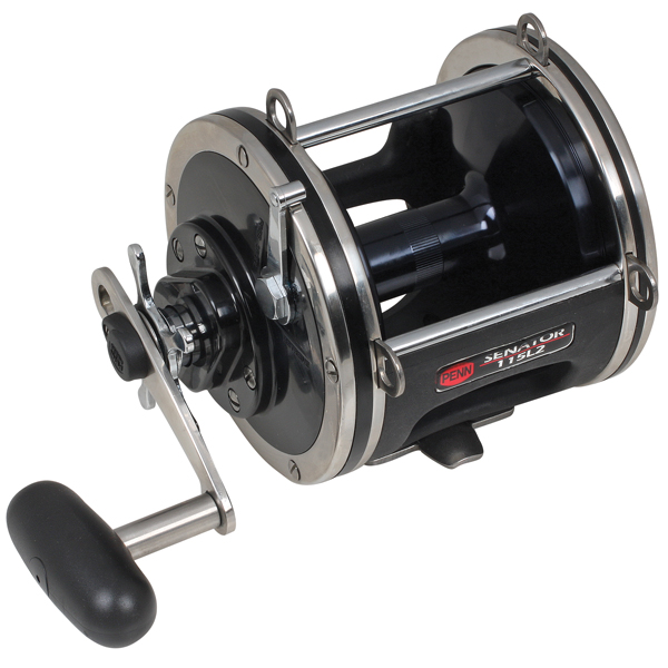 PENN Senator Reel 116L - 800yds/80lb. Gear Ratio 2:1, 2BB, 89oz.