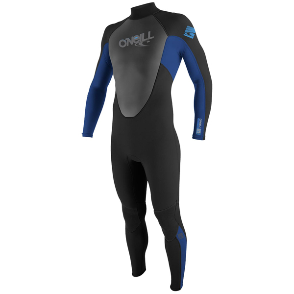 Men's Reactor 3/2 Full Wetsuit, Black, M