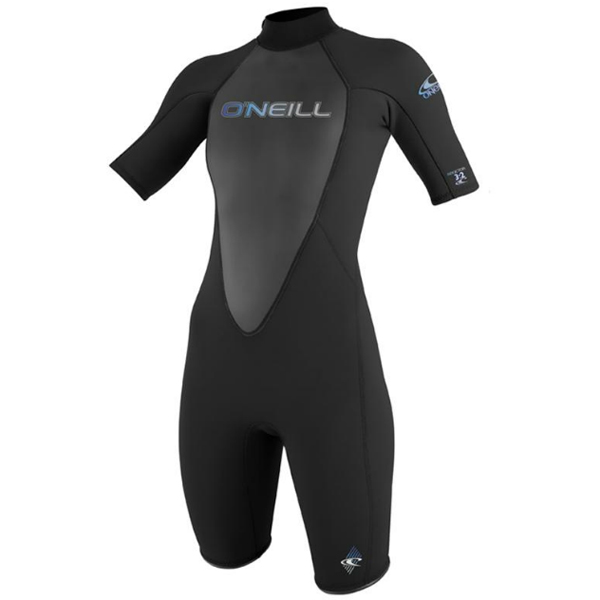 O'neill Women's Reactor Spring Wetsuit, Black, 8 Sale $84.99 SKU: 11984143 ID# 3801-A05-8 UPC# 603731899686 :