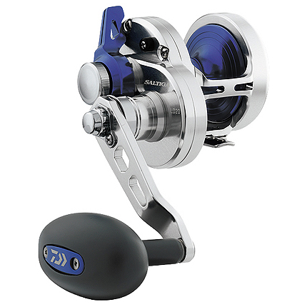 Daiwa Saltiga Lever Drag Hyper Speed Conventional Ree, 7.1:1 GR, 25.00 oz., 30/350, 40/310, 50/220 BRAID: 40/840, 50/630