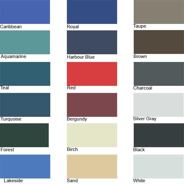 Redrum Fabrics Odyssey III Acrylic-Coated Polyester Fabric - Caribbean