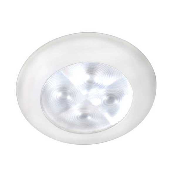 Hella Marine LED Downlight, Spread Light, 12V, White Light, White Plastic Rim Sale $52.99 SKU: 12039616 ID# 959599001 UPC# 760687119975 :