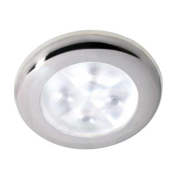 Hella Marine LED Downlight, Spot Light, 12V, White Light, Stainless Steel Rim Sale $47.99 SKU: 12039640 ID# 959599551 UPC# 760687120070 :