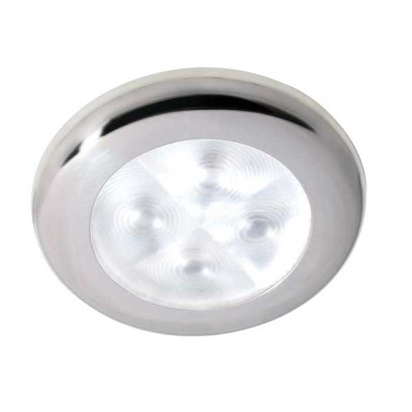 Hella Marine LED Downlight, Spread Light, 12V, White Light, Stainless Steel Rim Sale $59.99 SKU: 12039624 ID# 959599051 UPC# 760687119999 :