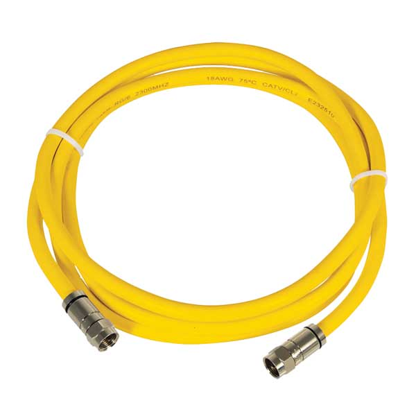 Marinco Coaxial Cord Set for HDTV and Net