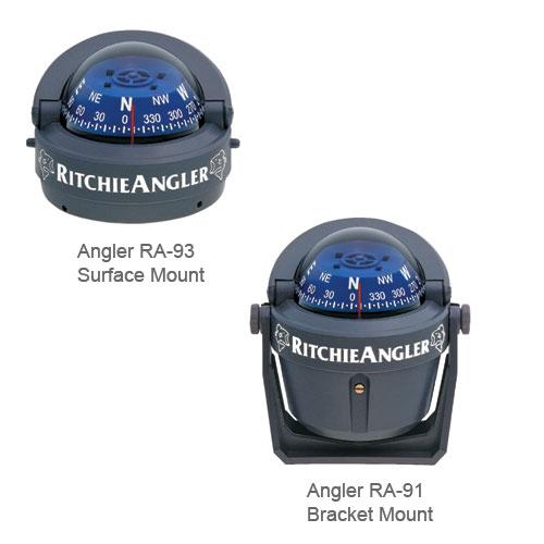 Ritchie Navigation Bracket-Mount Angler Compass, 4-9/16 dia. x 4-11/16H Sale $74.99 SKU: 120498 ID# RA-91 UPC# 10342160119 :