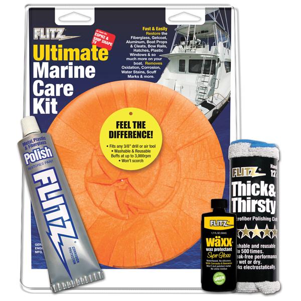 Flitz Ultimate Marine Care Kit Sale $45.99 SKU: 12056289 ID# MK 31509 UPC# 65925315097 :