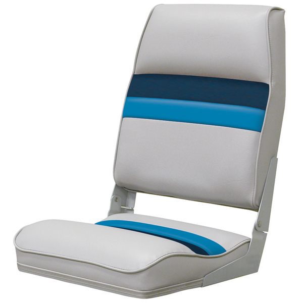 Wise Seating Fold-down Seat, Gray/Navy/Blue
