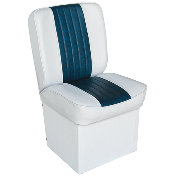 Wise Seating Premium Jump Seat - White/Navy