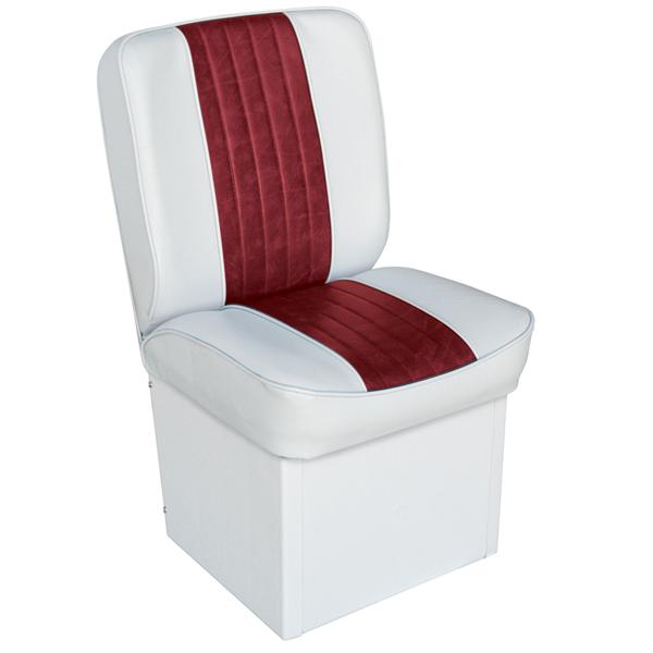 Wise Seating Premium Jump Seat - White/Red