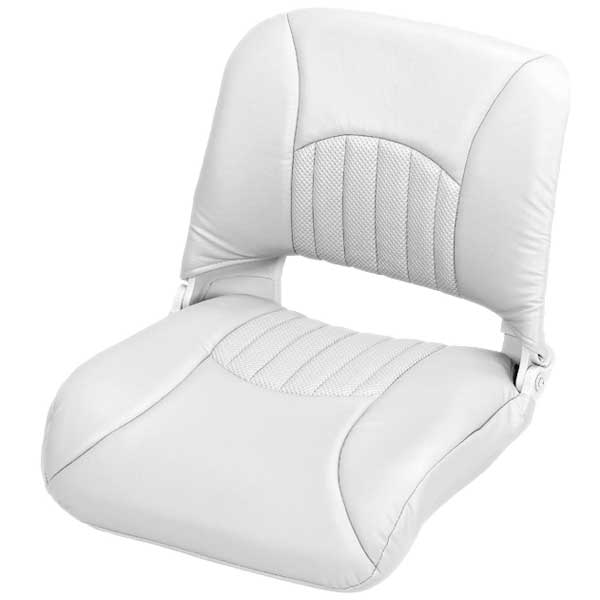 Wise Seating Injection-Molded Fishing Seat - White