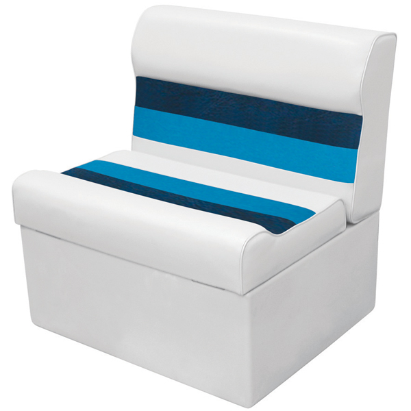 Wise Seating WD95 Loung Seat - White/Navy/Blue Sale $244.99 SKU: 12066064 ID# 8WD95-1008 UPC# 85211768925 :